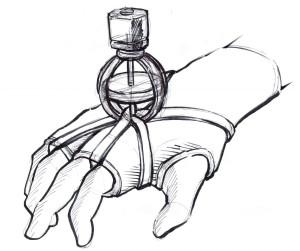 GyroGlove concept